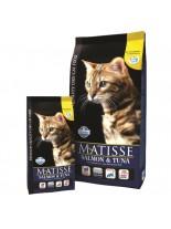 Matisse Salmon&Tuna  32/11 - пълноценна, суха, гранулирана храна за котки над 1 година със сьомга и риба тон - 20 кг