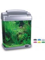HAILEA оборудван аквариум FC200  с размери 22.5х15.5х29.7 см. - 6.6 литра - сребърен