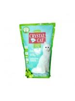 Crystal Cat - постелка за котешка тоалетна - зелена ябълка гранулиран cиликат, 1.75 кг.