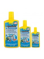 Tetra Aqua Safe - препарат -ефективен и бърз подобрител на чешмяната вода и моментално стартиране на нов аквариум - 500 мл. - в