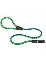 Ferplast -  TWIST MATIC G 18/110 - повод с автоматично заключване за куче - зелено със синьо - Ø 18 мм. x 110 см.