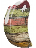 Ferplast - COVER AMIGO MEDIUM WOODS - панел за размер medium - цветни тухли