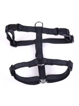 Миазоо - Нагръдник от текстилна лента за мини породи - черен, син или червен  - 10 мм.