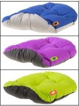 Ferplast - RELAX 89/10 - мек памучен дюшек за домашни любимци - зелен, тъмно син, тъмно лилав - 85х55 см.