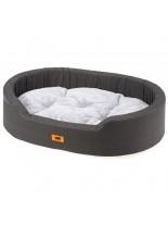 Ferplast Dandy F 45 - меко легло с дюшече от памучен плат c плюш за домашни любимци - 45х35х13 см.
