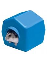 Ferplast ISBA 4638 - пластмасова къщичка за хамстери - 10,4 x 11,4 x h 11 см.