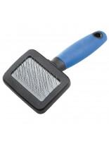 Ferplast - GRO 4955 - синя четка за фино разресване за гризачи - 12 x 6 x h 3 см.