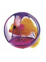 Ferplast -  PA 5214 TUMBLING CAT BALL - играчка мишка в цилиндър