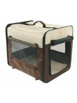 Ferplast - HOLIDAY 4 - сгъваема транспортна чанта от плат за куче или котка  - 64х46х53 см.