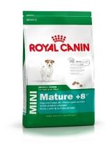 Royal Canin Mini Mature +8 - суха гранулирана храна за кучета над 8 години от дребните породи  - 2 кг.