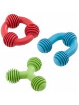 Ferplast pa 6560 - дентална играчка за куче - (синя, червена, зелена) - 8 см.