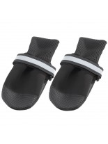 Ferplast - DOG SHOES MEDIUM BLACK(х2) - чорап - обувка за кучета - 8x7x9 см. - 2 бр.