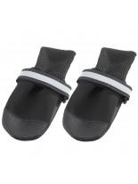 Ferplast - DOG SHOES LARGE BLACK(х2) - чорап - обувка за кучета - 9x8x10 см. - 2 бр.