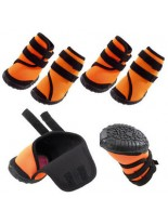 Ferplast - TREKKING SHOES M (х4) - чорап - обувка за кучета - 8x6,5x11 см. - 4 бр.