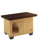 Ferplast Baita 100 Wooden kennel - дървена къща за куче - 122 x 79 x h 78 см