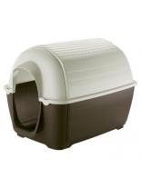 Ferplast Plastic kennel Kenny 07 - пластмасова къща за куче  - 111,6 x 80 x h 80 см