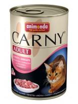 Animonda Carny Adult - пуйка + скариди 400 гр.
