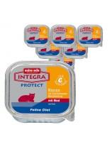 INTEGRA Protect Renal - профилактична храна за котки с ограничена функция на бъбреците с телешко - 100 гр.