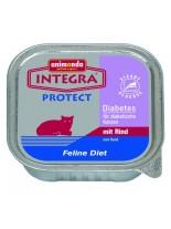 INTEGRA Protect Diabetes - специална диета за котки с диабет с телешко - 100 гр.