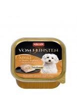 Vom Feinstein Forest 2in1  - Пастет за възрастни кучета с йогурд, овес и пилешко  - 150 гр.