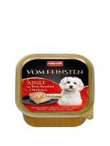 Vom Feinstein Forest 2in1  - Пастет за възрастни кучета с банани, кайсии и говеждо  - 150 гр.