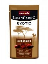 Gran Carno Exotic - високо качествен пауч за кучета с  парченца кенгурско месо - 125 гр.