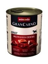Gran Carno Original Adult Multifleisch cocktail - Високо качествени консерва за кучета над 1 год. От Animonda Германия - мултикоктейл меса - 0.400 кг.