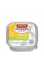 Animonda INTEGRA® Sensitive - БЕЗ ЗЪРНО, за кучета с хранителна непоносимост с пуйка и пъщърнак - 150 гр.
