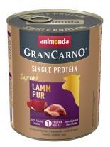Gran Carno Single Protein Supreme Pure Lamb - Високо качествена консерва за куче с един източник на протеин - Агнешко месо - 0.8 кг.
