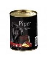 Piper - Премиум консервирана храна за кучета с телешки дроб и картофи - 400 гр.