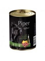 Piper - Премиум консервирана храна за кучета с дивеч и тиква - 400 гр.