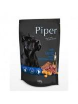 Piper with lamb and carrot - Премиум консервирана храна за кучета - пауч агнешко и моркови - 500 гр.