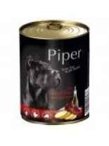 Piper - Премиум консервирана храна за кучета с телешки дроб и картофи - 800 гр.