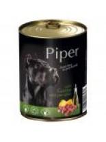 Piper  Adult - Премиум консервирана храна за кучета с дивеч и тиква - 800 гр.