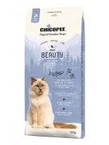 Chicopee Classic Nature Line Adult Beauty - за котки над 1 година за здрава и красива козина - с пилешко месо и сьомга - 15 кг.
