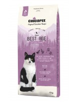 Chicopee Classic Nature Line Senior - за котки над 8 година или за котки с наднормено тегло - с пилешко и патешко месо - 15 кг.