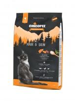 Chicopee Holistic Nature Line Hair&Skin - за котки над 1 година за здрава и красива козина - с пилешко месо, дроб и сьомга - 1.5 кг.