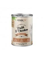 Chicopee Duck&Chicken - високо качествена консерва за котки с пилешко и патешко месо - 400 гр.