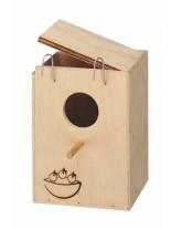 Ferplast Nido Nest small - къщичка гнездилка за птици -  13x12x17 см.