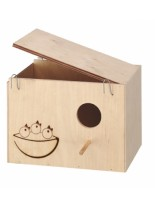 Ferplast Nido Nest large - къщичка гнездилка за птици - 25 x 17 x 17 см.