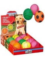 Camon - Играчка за куче - Топка спорт - различни цветове - 7 см.
