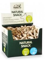 Natural Snack - Четка за зъби - Мляко и ванилия - 14 см. - (цената е за 1 бр.)