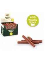 Natural Snack - Четка за зъби - оранжева - бекон - 24 см. - (цената е за 1 бр.)