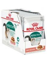 Royal Canin pouch Instinctive + 7 - пауч за котки над 7 година (тънки късчета в сос) - 85 гр.