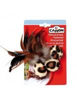 Camon -  Мека играчка за котки топчета спера - 4 см.