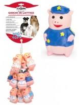 Camon - Играчка за куче - Прасенца латекс, в различни цветове - 11 см.