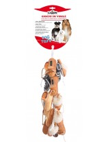 Camon - Играчка за куче - Обувчици винил  - 10 см. - 16 бр.
