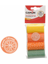 Camon - CITRUS - Xигиенични найлонови торбички с аромат на цитрус - 4 бр.