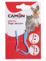 Camon - Пластмасови куки за отстраняване на кърлежи от домашните ви любимци