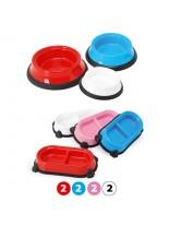Camon - Купа за домашни любимци - 17х6.5 см. - синя, червена, розова, бяла